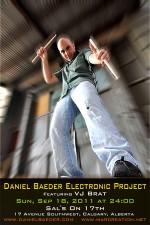 Daniel Baeder Electronic Project Live! featuring VJ Brat