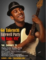 Go Takeuchi Farewell Party - My Baby NYC