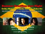 Summer Brazilian Jazz Night feat. Chieko, Yuko, Erika