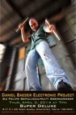 Daniel Baeder Electronic Project Live - English